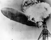 Explosão do hidrogênio no Hindenburg