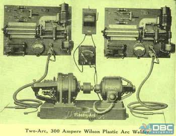 Nos idos de 1970, com o surgimento dos transistores, foi possível a regulagem dos vários parâmetros de soldagem com maior sensibilidade.