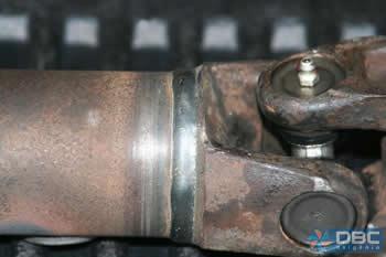Uma das grandes vantagens do processo de solda MIG/MAG, é a ausência de escória no cordão de solda.