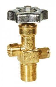 válvula cilindro co2
