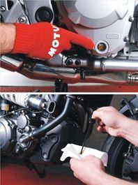 Motorcycle Oil levels-motul